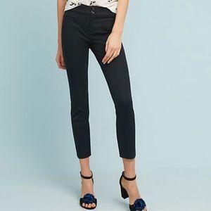 Anthropologie Essential Slim Capri Trouser Pant 0P